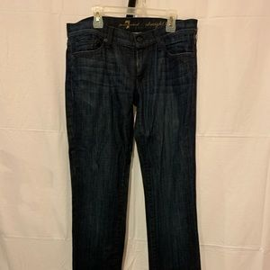 Seven for all mankind women jeans straight